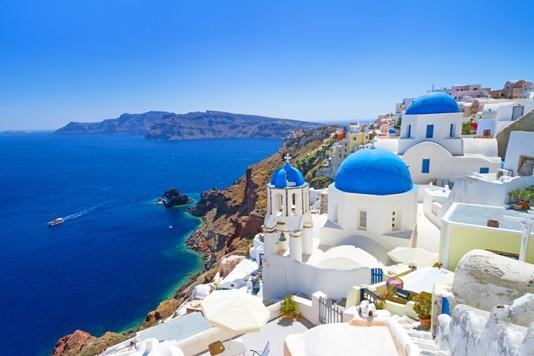Santorini-Aegean-Sea